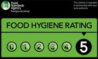 Food Hygiene rating 5 at The Sunny Restaurant Worthing